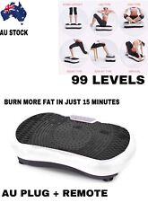 Fit Vibration Platform Body Massage Plate Shaper Machine Exercise Fitness Gym