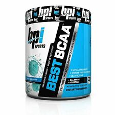 BPI Sports Best BCCA Powder CLA Muscle Recovery Supplement Raspberry 10.58 Ounce