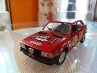 Modellino polistil Giulietta 1.6 S 601 Rosso Rally Scala 1/25 da collezione