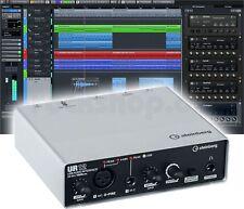 Steinberg UR12 USB-Audiointerface externe Soundkarte + Cubase AI Software - NEU