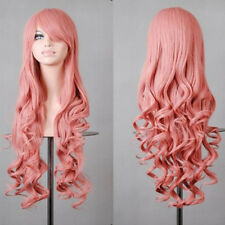 Women Long Curly Wigs Fashion Cosplay Party Costume Anime Full Wavy Hair 31.49''