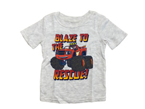 Blaze and The Monster Machines Boy's Monster Truck Rescue Licensed T-Shirt New