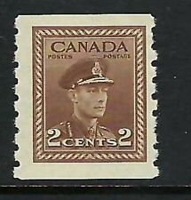 CANADA - SCOTT 264 - FVFNH - KING GEORGE VI WAR ISSUE COIL STAMP - 1943