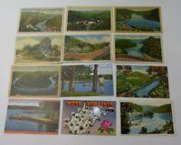 26 Vintage Postcards WEST VIRGINIA