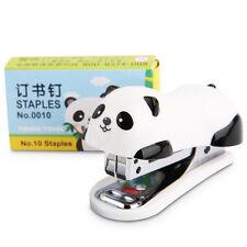 6*2.5*4cmPanda Mini Desktop Heftgerät, Tacker Handtacker&Home Office Hefter·