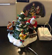 "Vintage Snow Village ""Santa Comes To Town 2001"" D56 55120 Retired"