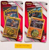 LOT 2 SEALED Pokemon TEAM UP Dragonite & Machamp Blisters w/ Mini Booster Packs