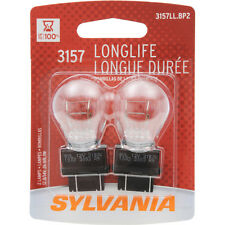 20 NEW Tail Light Bulbs Sylvania 3157 LL LONG LIFE Dual Filament p27/7w 10pk