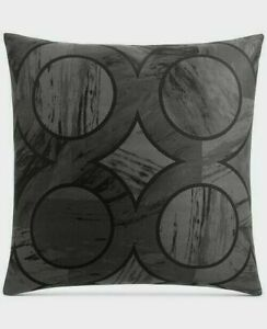 Hotel Collection Marble Geo Quilted 100% Pima Cotton Pillow Sham PAIR - EURO