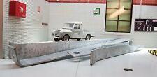 Land Rover Series 1 Body Stay Brackets Galvanised LWB 107 109 303977 304722 Set