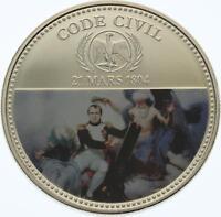 O4297 Médaille France Napoléon Empereur Code Civil 1804 BE PROOF ->Faire offre