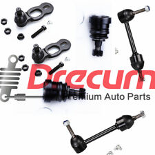 6PC Front Upper Lower Ball Joint Sway Bar Link Set For Crown Victoria Town Car