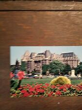BEAUTIFUL VINTAGE PHOTO POST CARD EMPRESS HOTEL VICTORIA B.C. RARE CARD