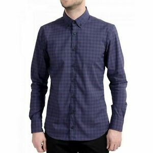 HUGO BOSS Mabsoot Slim Long Sleeve Casual Button Down Shirt Mens XXL
