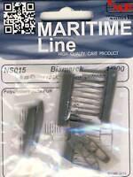 CMK Bismarck 2 6 m Cutter / Rettungsboote Schiffe 1:200 Trumpeter Modell-Bausatz