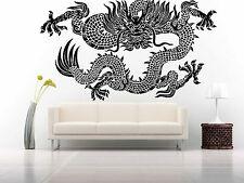 Wall Room Decor Art Vinyl Sticker Mural Decal Monster Dragon China Pattern FI677