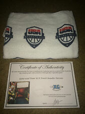 2014 TEAM USA BASKETBALL GAME USED TOWEL-GIVEN BY CHANDLER PARSONS Las Vegas-COA