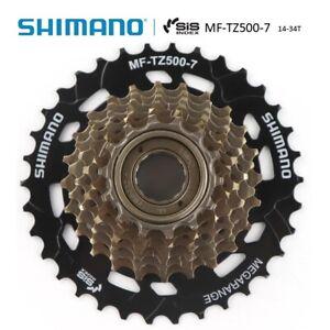 Shimano Tourney MF-TZ500-7 Speed Bike Thread Sprocket Freewheel Screw-On 14-34T