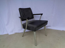 "GREAT EARLY GOODFORM ""Z"" ARM UPHOLSTERED CHAIR...UPHOLSTERING IS GOOD..."