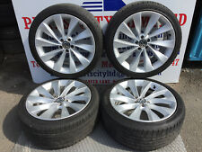 "VOLKSWAGEN SCIROCCO VW PASSAT CC 2013 4X 18"" ALLOY WHEELS WITH TYRES"