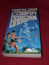 Cobra Bargain by Timothy Zahn (1988, paperback) SIGNED first print Very Good