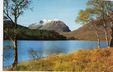OLD POSTCARD - SCOTLAND - Liathach from Loch Clair, the Torridons, Ross-shire