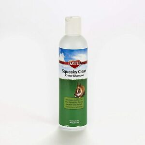 Kaytee Squeaky Clean Critter Shampoo 8 oz.