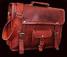 00% Best Quality GNew Messenger Bag Satchel Leather Mens's Briefcase Laptop Bag