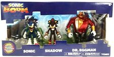 TOMY-SONIC BOOM 3 pollici figura 3 Pack DIORAMA-Sonic, Shadow & Dr. EGGMAN