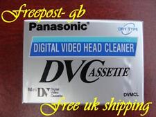 SUPER PANASONIC MINI DV DIGITAL CAMCORDER HEAD CLEANING TAPE/ CASSETTE AY-DVMCLW