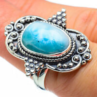 Larimar 925 Sterling Silver Ring Size 7.25 Ana Co Jewelry R30044F