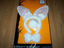 Easter Bunny Rabbit Costume Accessory Kit Ears Headband Tail Bow Tie New Girls