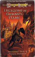 Dragons of Summer Flame by Tracy Hickman and Margaret Weis (1996, PB, 1st Print)