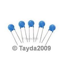 10 x Zinc Oxide Varistor 250VAC 60J 2500A 10mm