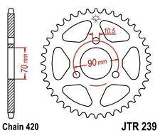 JTR239.47 JTR 47 Tooth Steel Rear Sprocket Honda CR80 MT50 MTX50 MTX75 See Desc