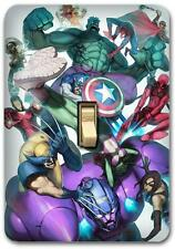 Marvel Captain America Metal Switch plate Wall Cover Lighting Fixture SP762