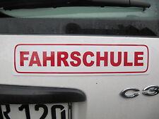 Magnetschild Fahrschule 31,5x7cm