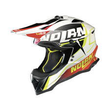 CASCO CROSS NOLAN N53 SIDEWINDER - 43 Metal White TAGLIA S