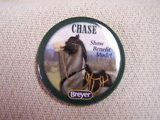 Breyer Chase 2016 show benefit model Button/Pin - Rarely seen for sale
