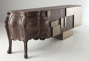 « EVOLUTION » WOOD CARVING COMMODE Furniture