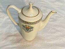 Lenox China Autumn Pattern: Coffee Pot With Lid