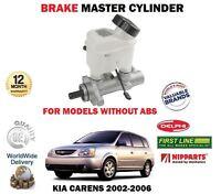 FOR KIA CARENS 2002-2006 NEW -ABS MODELS BRAKE MASTER CYLINDER + RESERVOIR