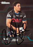 ✺Signed✺ 2013 PENRITH PANTHERS NRL Card BRAD TIGHE