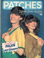 Patches Magazine 10 May 1980 No. 62     The Police    Leif Garrett    Tommy Boyd