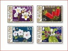 SHE1501 Flowers 4 stamps