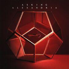 ASKING ALEXANDRIA - ASKING ALEXANDRIA - NEW CD ALBUM - SIGNED CD INLAY + BADGES