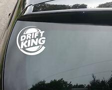 Gran Drift King Funny car/window Jdm Vw Euro Vinilo calcomanía adhesivo