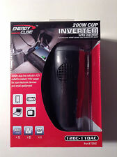 Energy Cube #72502 200W Cup Inverter with USB Port