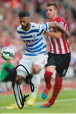 QPR HAND SIGNED ARMAND TRAORE 6X4 PHOTO 1.