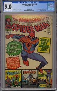 AMAZING SPIDER-MAN #38 CGC 9.0 2ND MARY JANE WATSON CAMEO